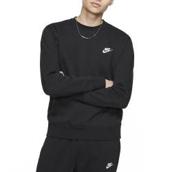 Nike Club Fleece Crw Black