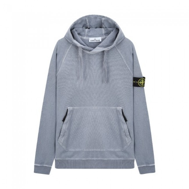 Stone Island T.Co Old Hoodie Blue