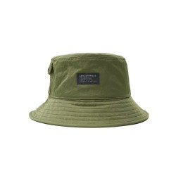 Levis Pull Patch Utility Bucket Hat Green