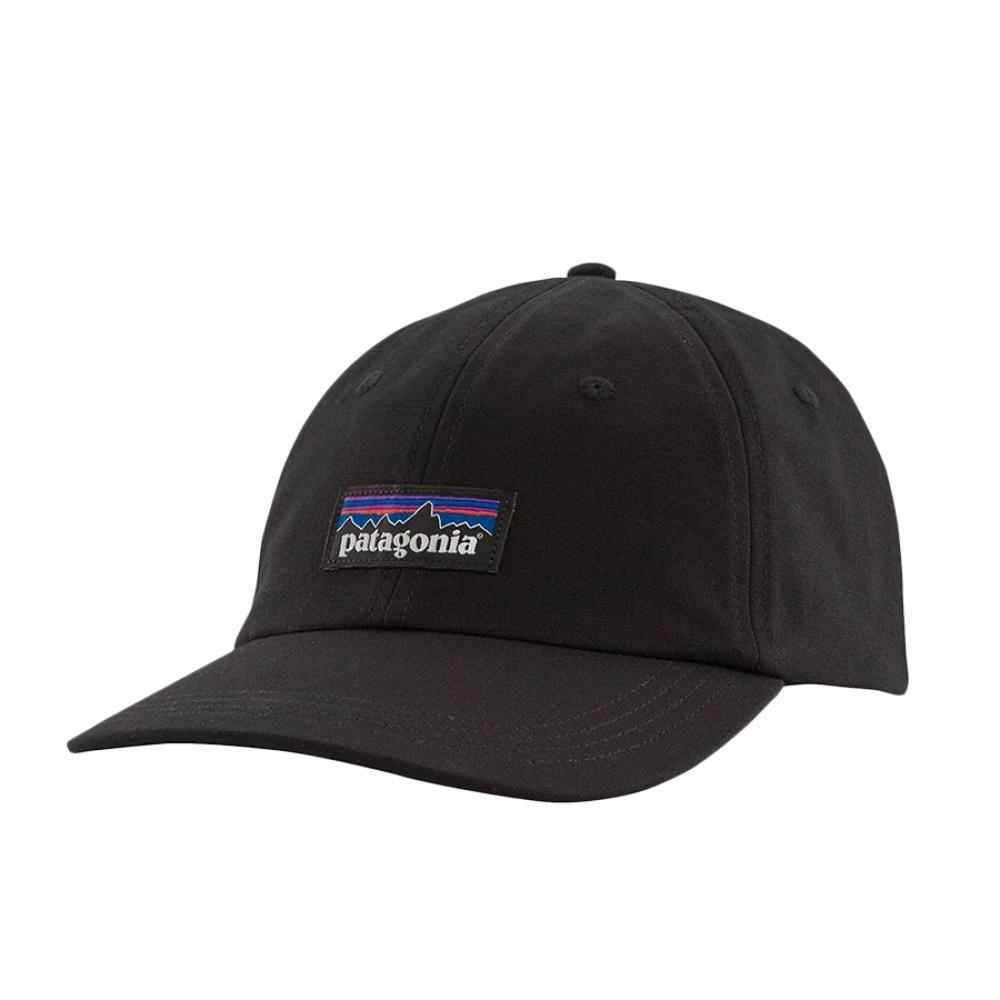 Patagonia P-6 Label Trad Cap Black