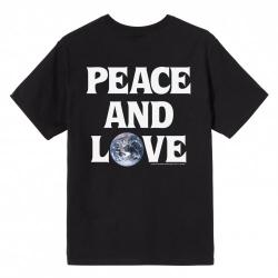 Stussy Peace & Love Tee Black