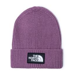 The North Face Logo Beanie Pikes Purple