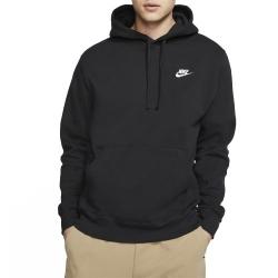 Nike Club Fleece Hoodie Black