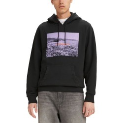 Levis Graphic Pullover Hoodie Black