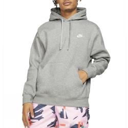 Nike Club Fleece Hoodie Grey
